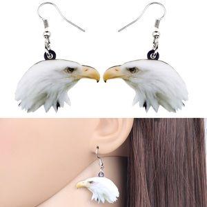 Bald Eagle Acrylic Earrings